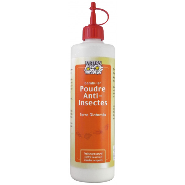 Insecticide en poudre 500ml aries insecticides protection insectes droguerie droguerie for Peinture anti insecte