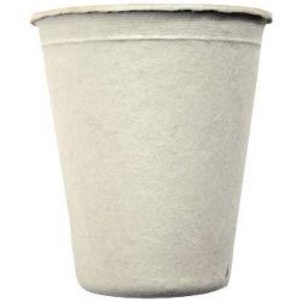 Gobelets jetables en pulpe de canne à sucre lot de 25 (260ml)