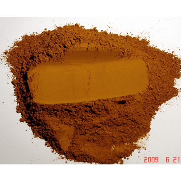 Pigment naturel pour peinture Terre de Sienne naturelle à partir de 250g