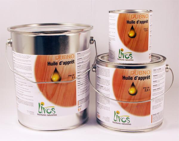Sous couche bois naturelle intérieur DUBNO pour lasure, cire ou laque (1L 15m2) Livos Peinture  # Peinture Ou Lasure Pour Bois Exterieur