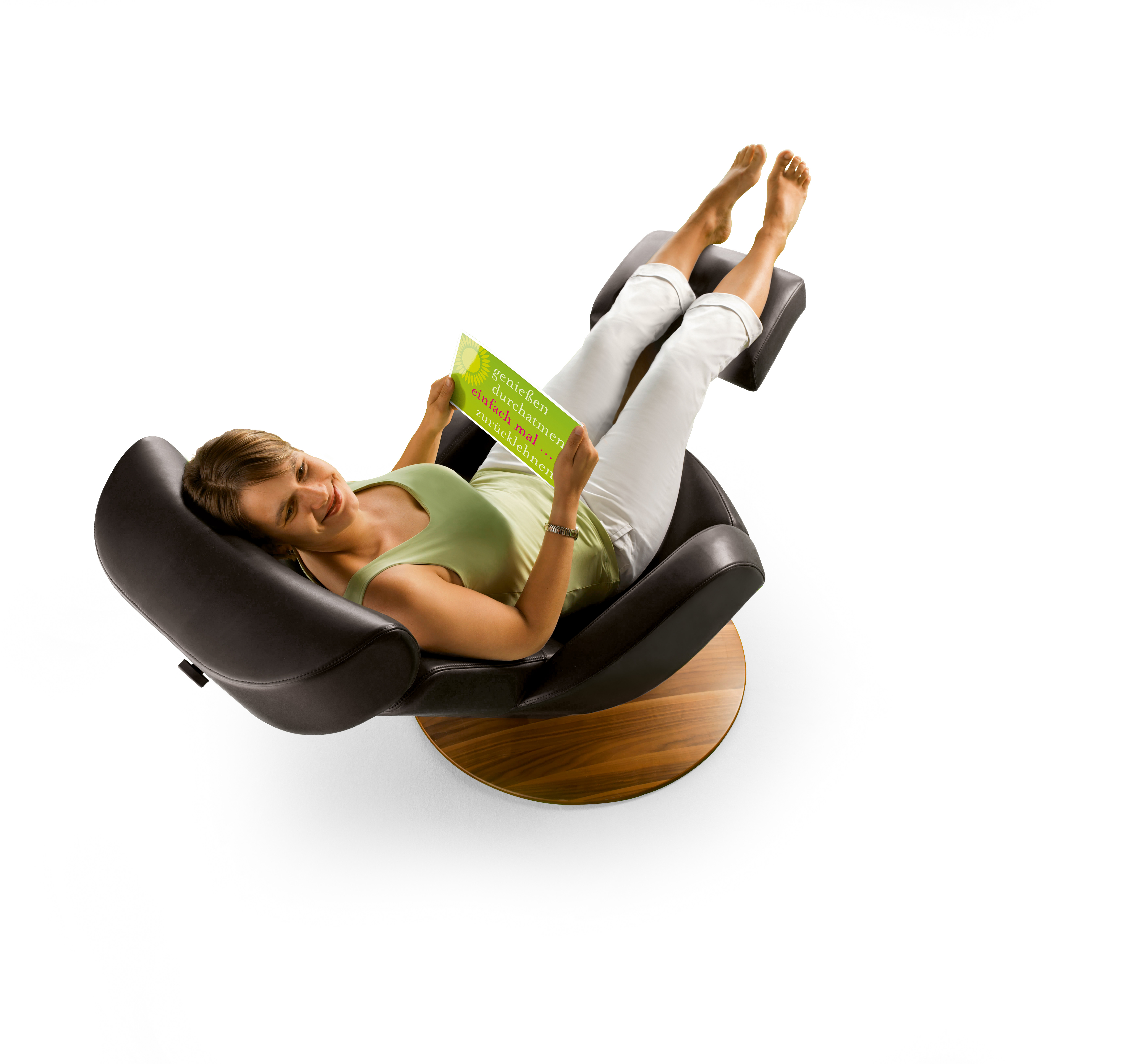 Fauteuil de relaxation en cuir moizi 31 fauteuils - Fauteuil de bureau relax ...
