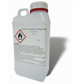 Alcool dénaturé 95° interdit à la carburation, 1L