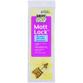 Pièges anti-mites alimentaire paquet de 5 mottlok ARIES