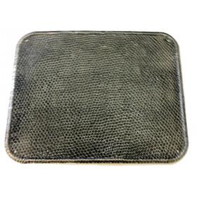 Plaque de propreté aluminium martelé pour pôele à bois DEOM TURBO