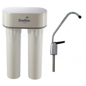 Filtre à eau sous-évier anti calcaire duo DOULTON