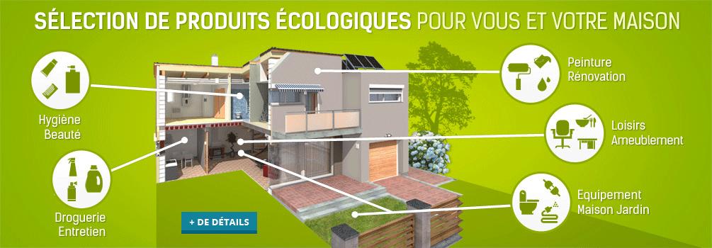 Maison-ecolo.com: sélection de produits écologiques pour vous et votre maison