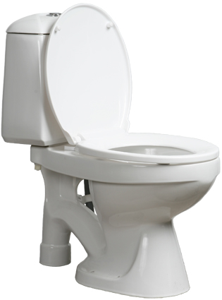 Toilette à séparation des urines