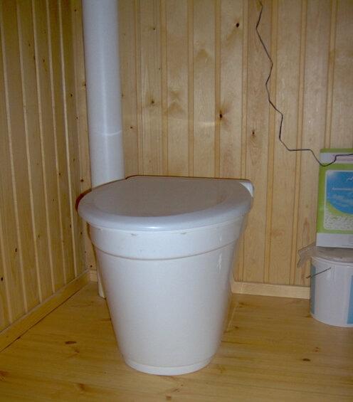 Toilette seche à compost Ekolet