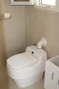 Toilette seche à séparation des urines