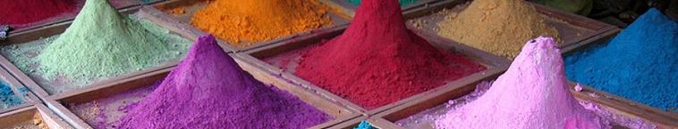 Pigments naturels
