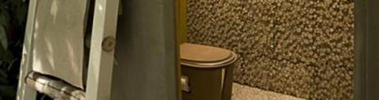 Toilette sèche à sciures