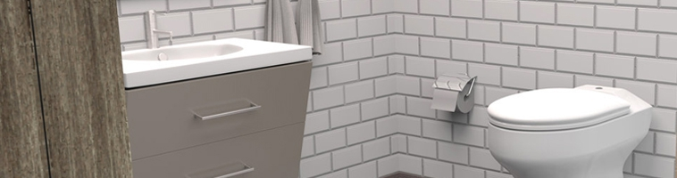 Toilette écologique à eau et séparation