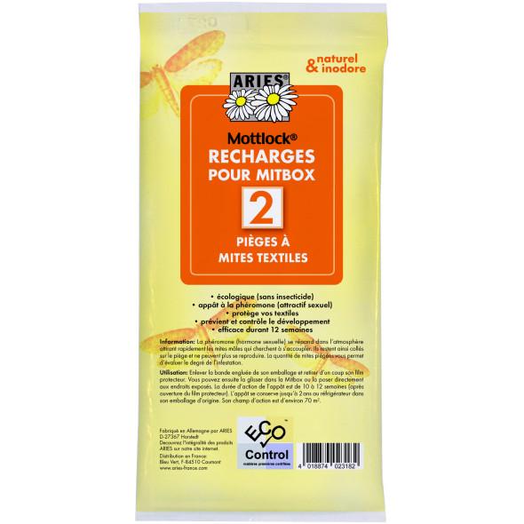 Recharges piège anti-mites textiles mitbox ARIES