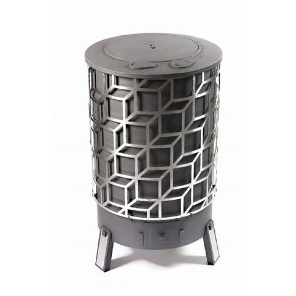 po le bois d 39 home cube partir de 10kw deom turbo. Black Bedroom Furniture Sets. Home Design Ideas