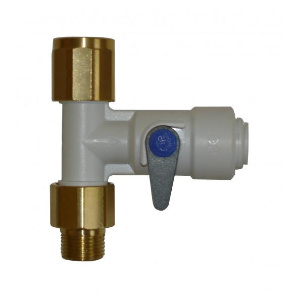 Raccord 20/27 male/femelle Push-fit tuyau 3/8 plastique DOULTON
