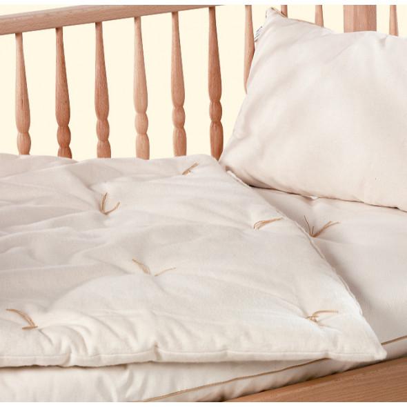Couette bébé en coton BIO 75x120cm  500g/m2