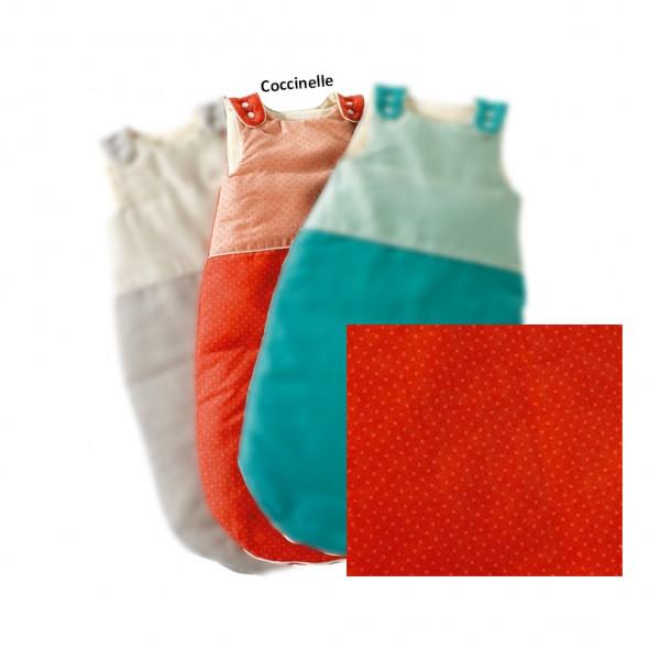Gigoteuse coton 100% BIO coccinelle