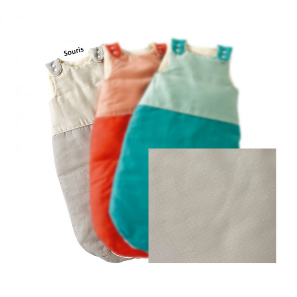 Gigoteuse coton 100% BIO souris