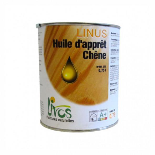 Sous-couche bois ou pierre naturelle int/ext Linus 260 Livos (0,75/12m2)