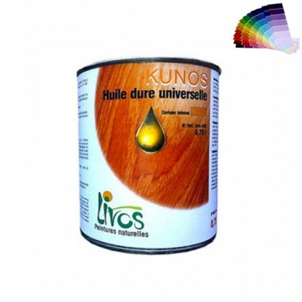 HUILE dure bois spéciale plancher Kunos (1L/17m2 en 3 couches) Livos