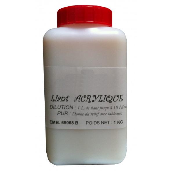 liant acrylique 1l à diluer - recette peinture bois - peintures ... - Diluer Peinture Acrylique Avec De L Eau