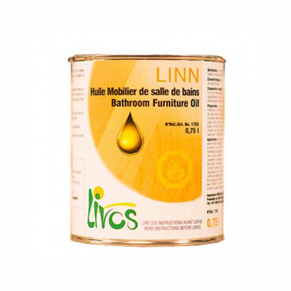 huile pour bois naturelle sp ciale mobilier de salle de bain linn 1l12m2 en 3 couches livos