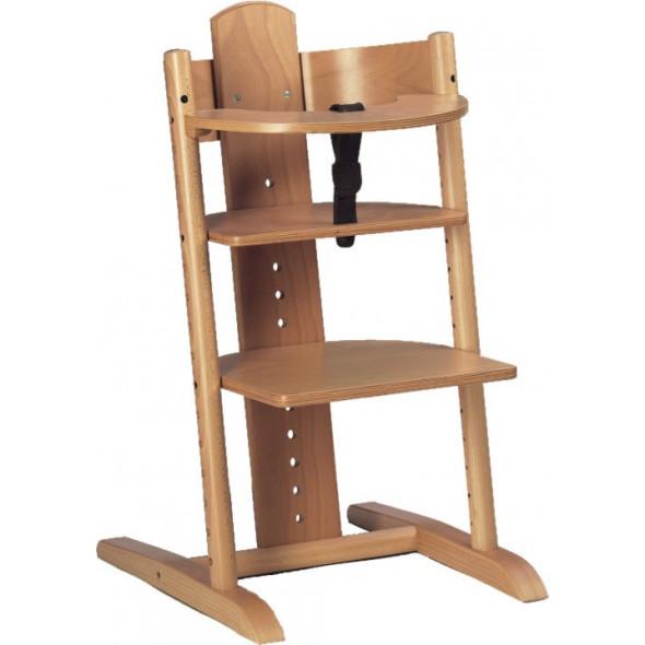 Chaise haute enfant évolutive avec tablette MOIZI2