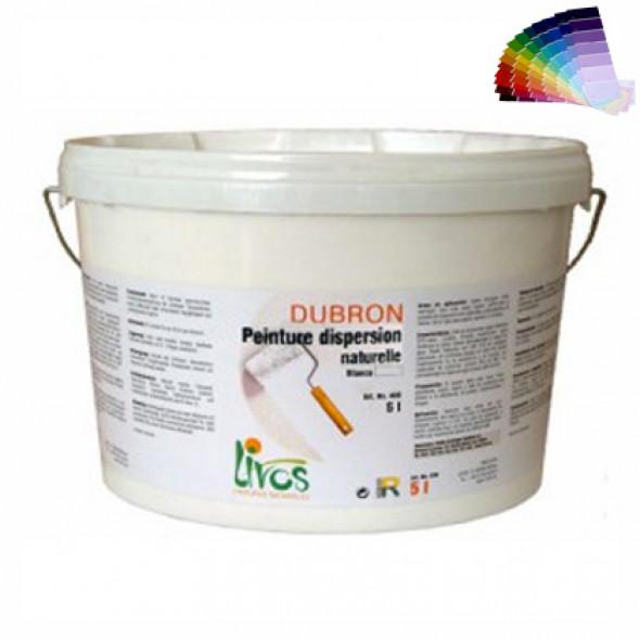 Peinture naturelle mate, couleurs, murs et plafonds intérieur (1L/8m2) Livos