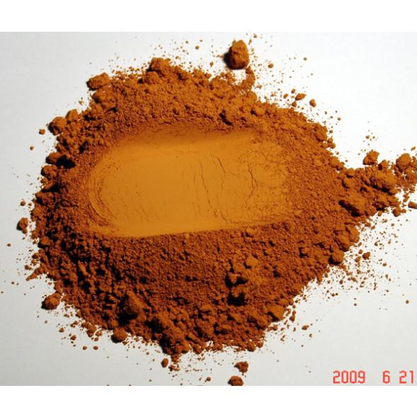 Pigment naturel pour peinture Ocre de Havane à partir de 250g