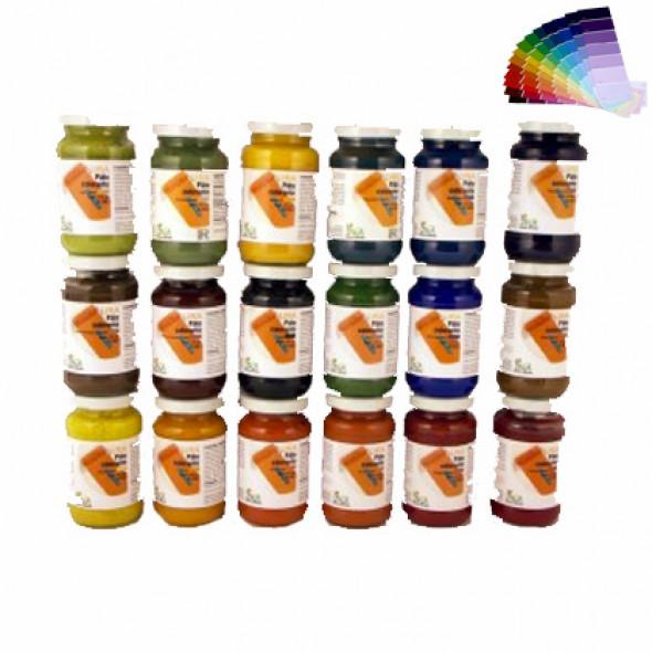 Colorants naturels pour peinture intérieur, URA  (0,125L/0,7m2) Livos