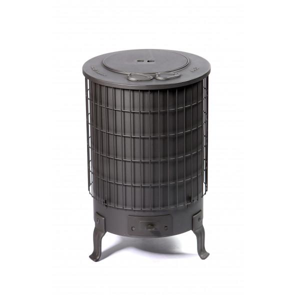 Poêle à bois noir à partir de 10kW DEOM TURBO
