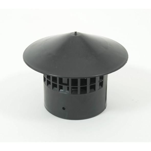 Couvercle chapeau chinois diamètre 75mm toilette sèche