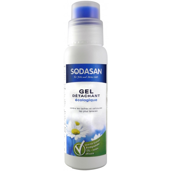 Détachant textile bio gel avec applicateur 200ml SODASAN