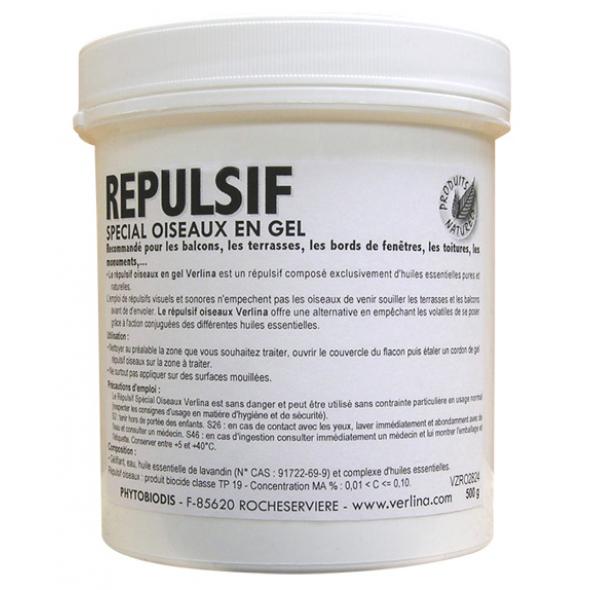 Gel r pulsif oiseaux origine v g tale 500g verlina r pulsifs animaux r pulsifs naturels - Repulsif naturel pour chat interieur ...
