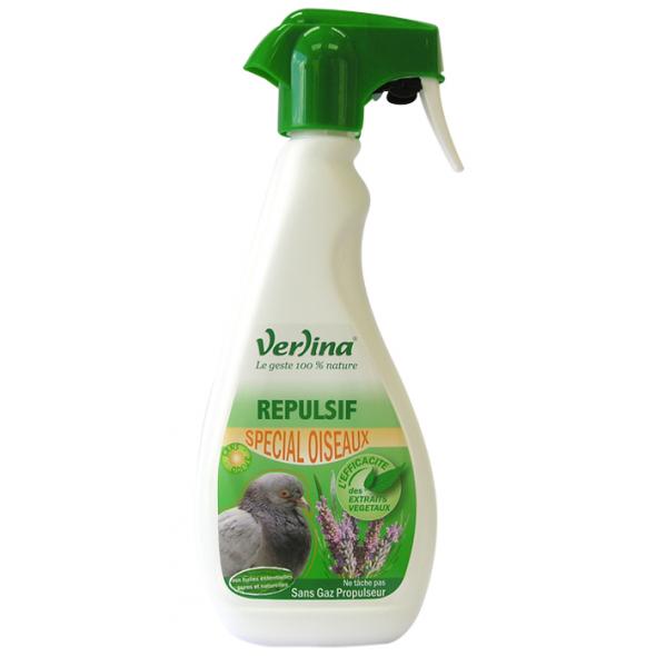 Répulsif oiseaux origine végétale en spray 500ml VERLINA