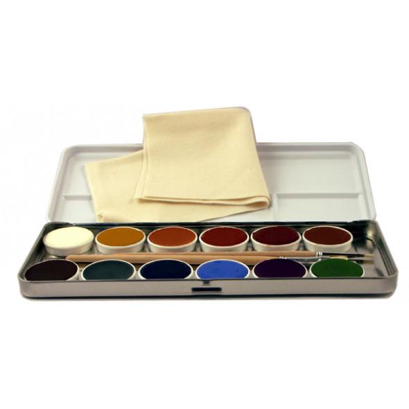 Maquillage naturel enfant VIDA 12 couleurs LIVOS