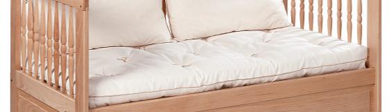 matelas enfant coton bio 60x120cm. Black Bedroom Furniture Sets. Home Design Ideas