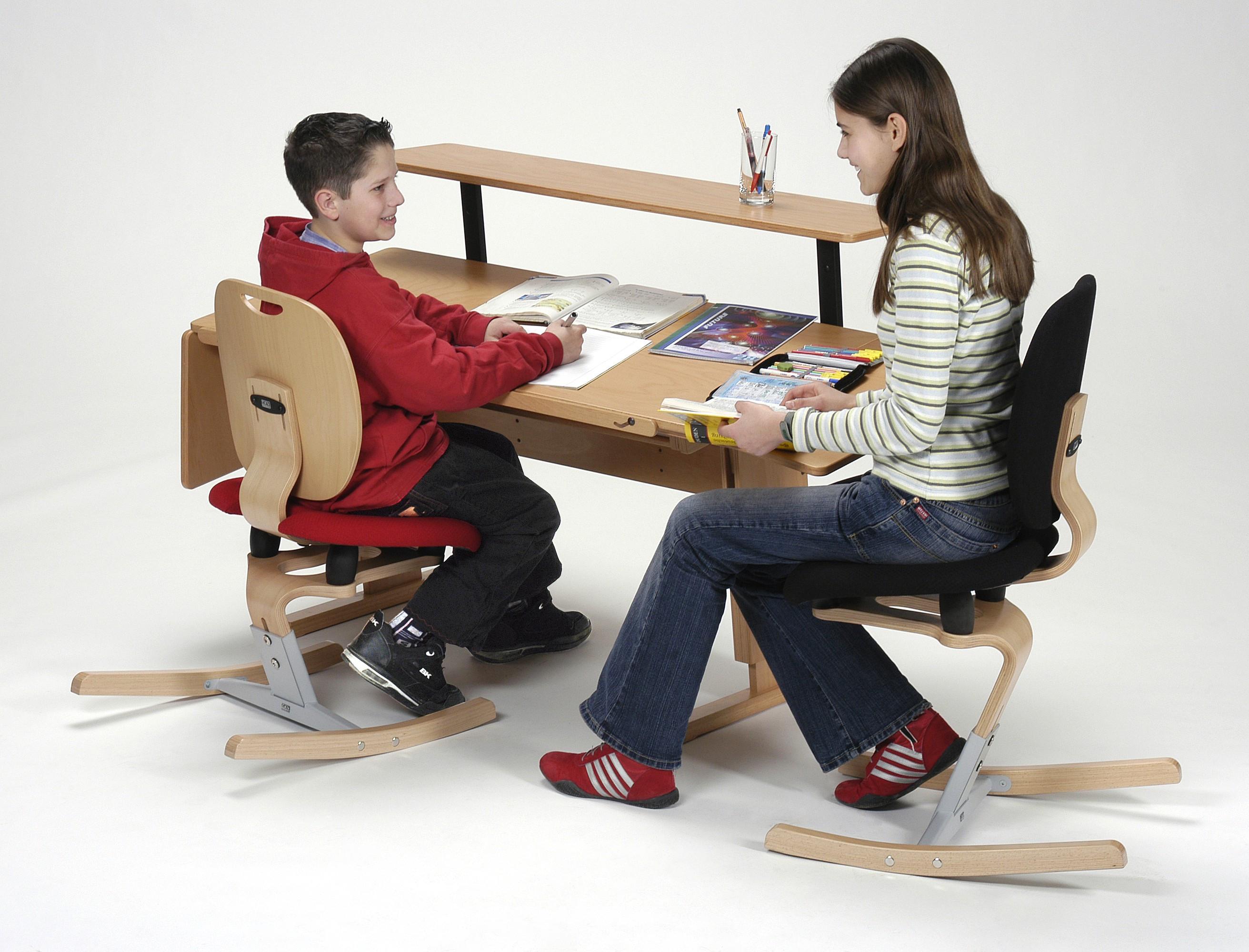 Bureau enfant volutif avec accessoirs moizi17 ergonomie - Bureau enfant evolutif ...
