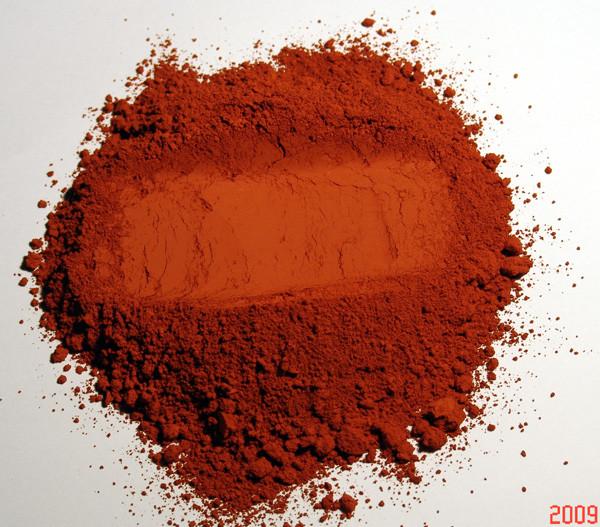 pigment naturel pour peinture ocre rouge partir de 250g recette peinture bois peintures. Black Bedroom Furniture Sets. Home Design Ideas