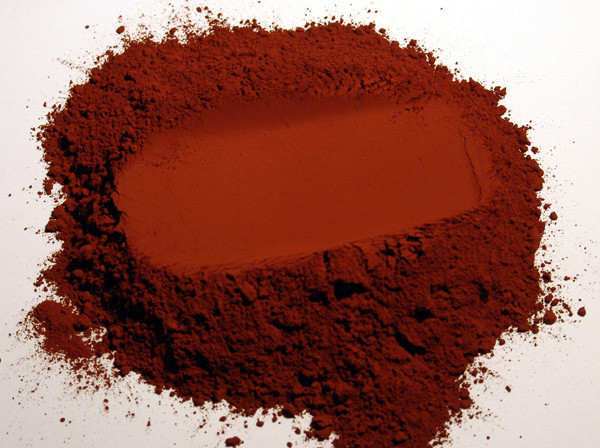 Pigment naturel pour peinture terre de sienne calcin e for Facade terre de sienne