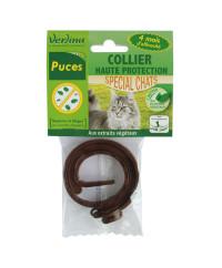 Collier anti-puces chat origine végétale VERLINA