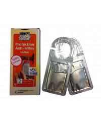 Protection anti-mites textiles 2 diffuseurs de répulsif