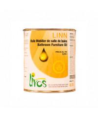 HUILE pour bois naturelle spéciale mobilier de salle de bain LINN (1L12m2 en 3 couches) Livos