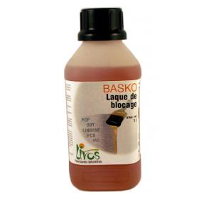 Laque de blocage de substances toxiques Basko (1L/10m2) Livos