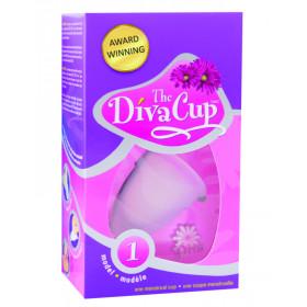 Coupe menstruelle 100 % hypoallergique femme -30ans DIVA CUP