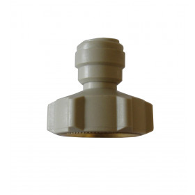 Raccord 20/27 femelle 3/8 Push-fit tuyau 3/8 plastique DOULTON