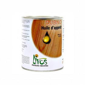 Sous-couche bois naturelle intérieur DUBNO pour lasure, cire ou laque (1L/15m2) Livos