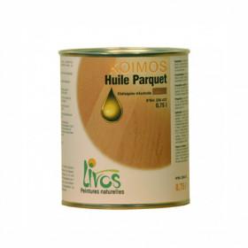 HUILE pour parquet naturelle KOIMOS (0,75L/32m2 en 2 couches) Livos