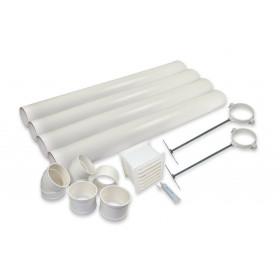 Kit ventilation Toilette sèche à combustion SEPARETT