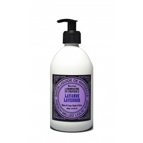 Savon liquide de Marseille Bio en pompe parfum lavande, 500 ml